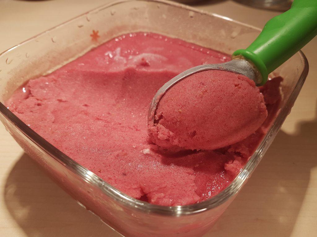 Kugla zdravog sladoleda