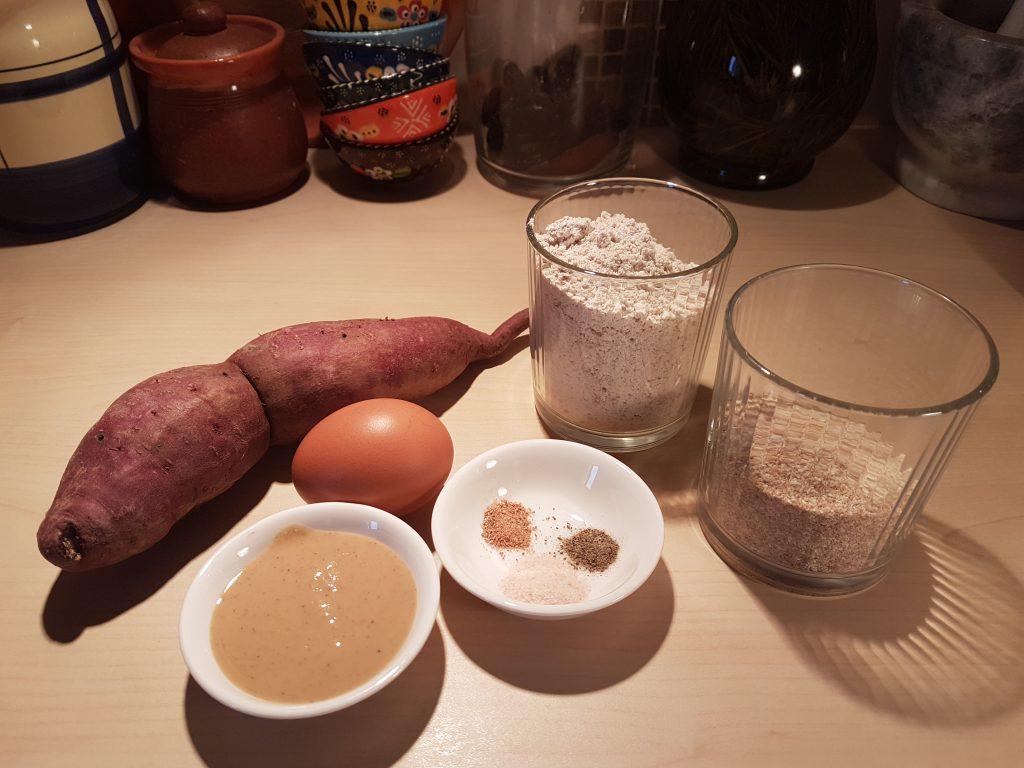 Sastojci za njoke od batata