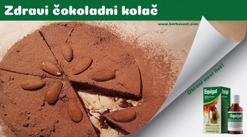 Zdravi čokoladni kolač