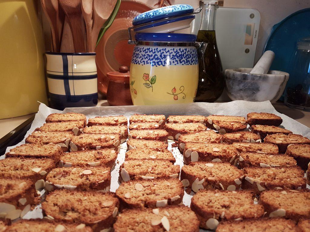 Gotov biscotti kolac
