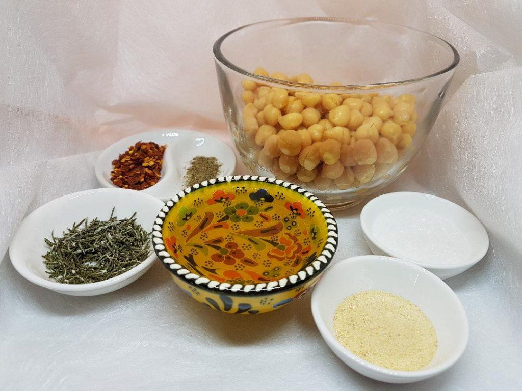 Sastojci za pripremu pečenih leblebija