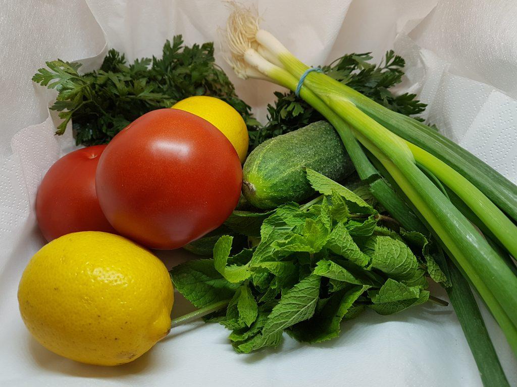 Povrće i limun
