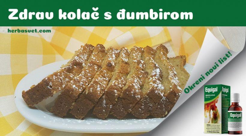 Zdrav kolač sa đumbirom
