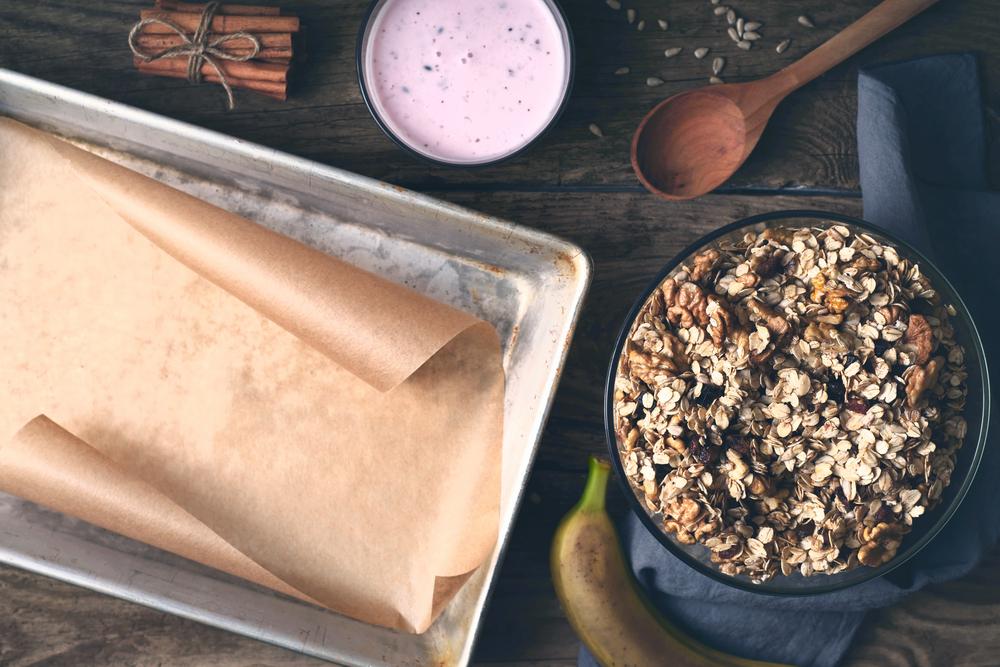 Sastojci za pripremu granole