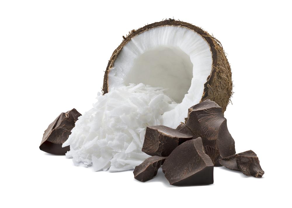 Kokos prepolovljen