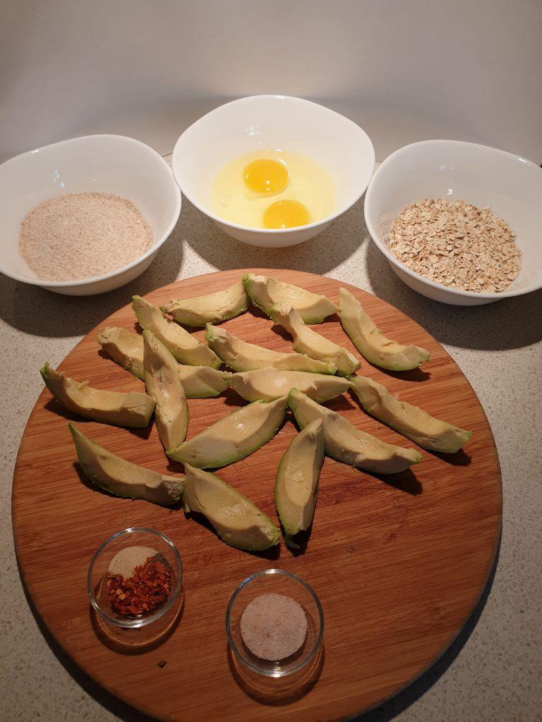 Sastojci za pohovani avokado