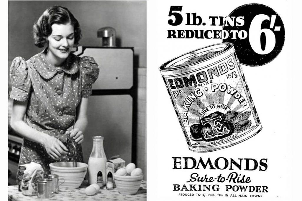 Stara američka reklama za brašno za pecivo