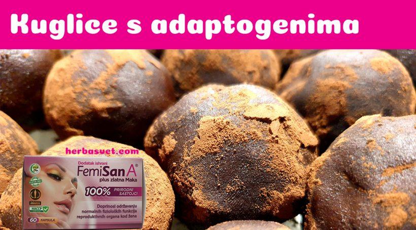Zdrave kuglice sa adaptogenima