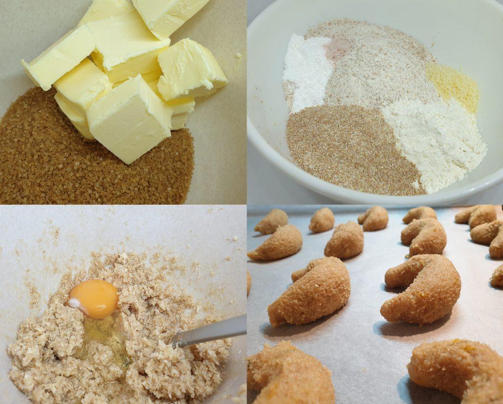 Proces pravljenja sunčanih kolačića